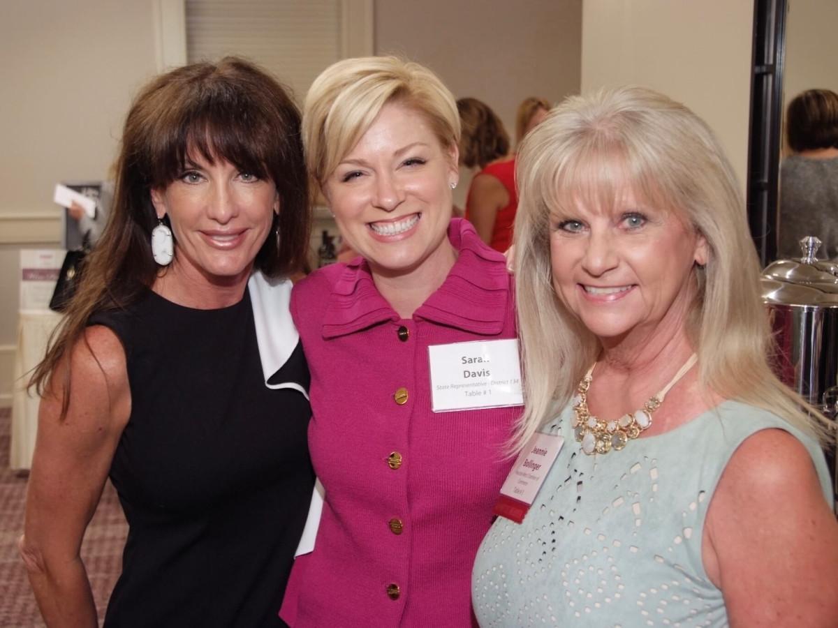 Women Driving Business 9/16 Sarah Cain, State Rep. Sarah Davis, Jeannie Bollinger