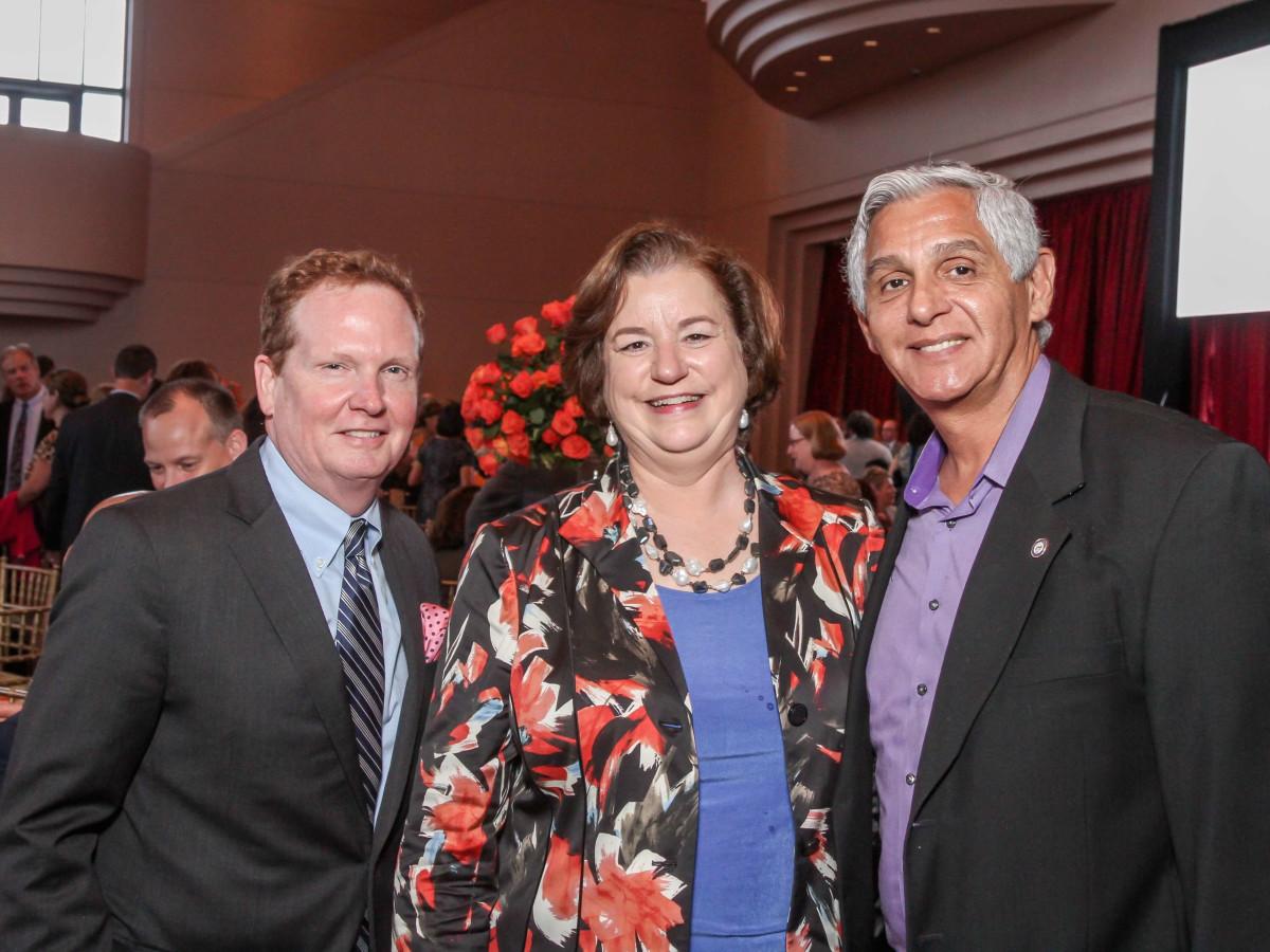 Legacy Luncheon, 9/16, Ray Purser, Katy Caldwell, Robert Gallegos
