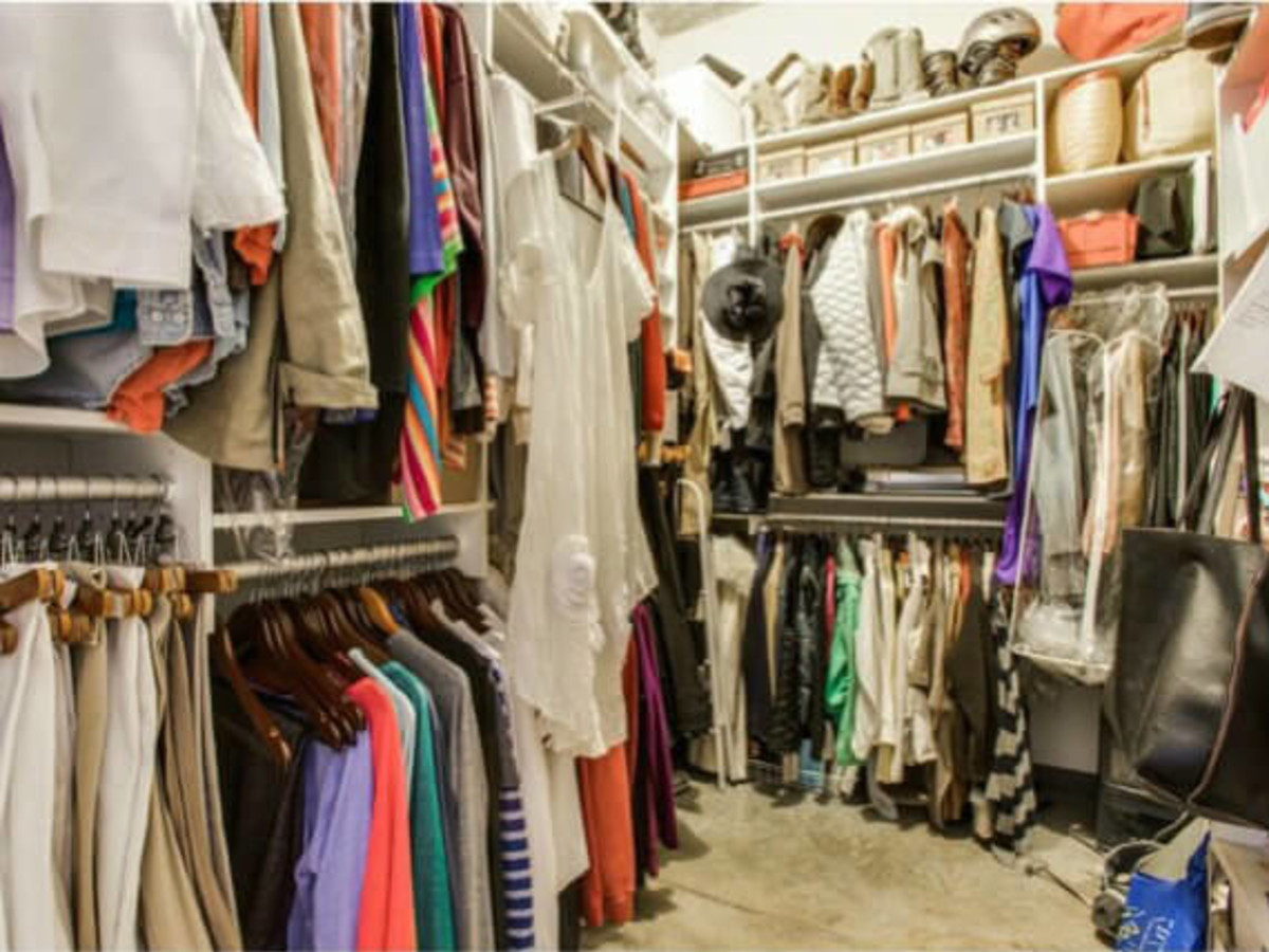 Closet at 1122 Jackson St. in Dallas