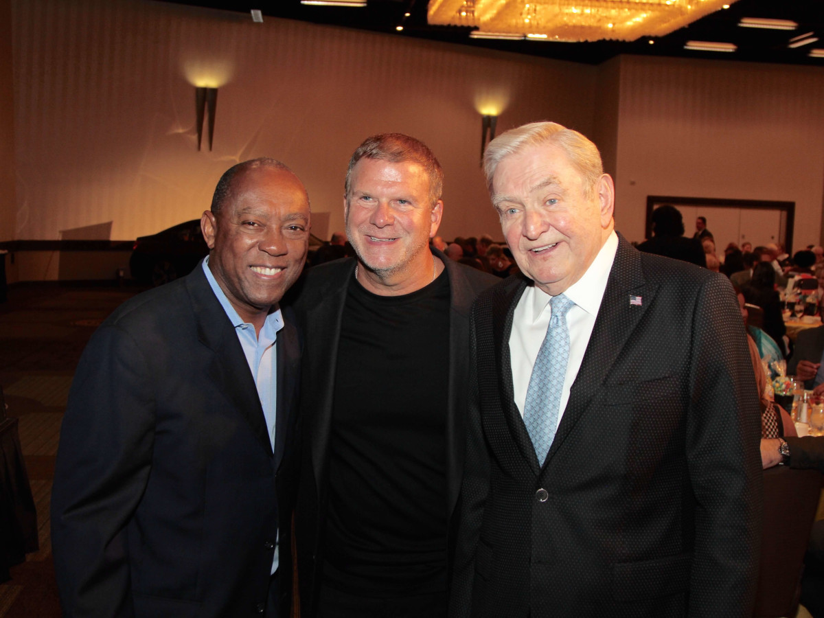 Houston Children's Charity 20th anniversary, 9/16  Mayor Sylvester Turner, Tilman Fertitta, Dave Ward