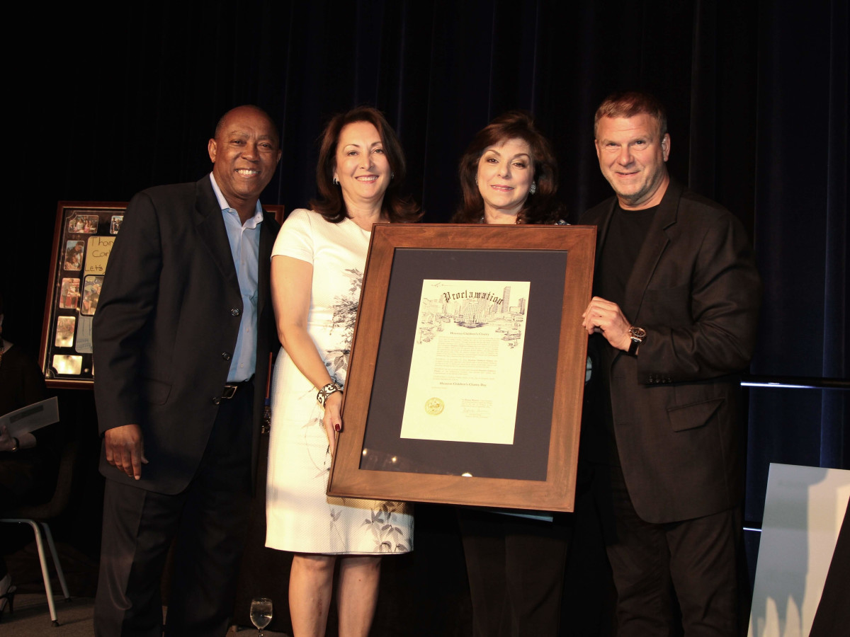 Houston Children's Charity 20th anniversary, 9/16 Mayor Sylvester Turner, Penny Loyd, Laura Ward, Tilman Fertitta