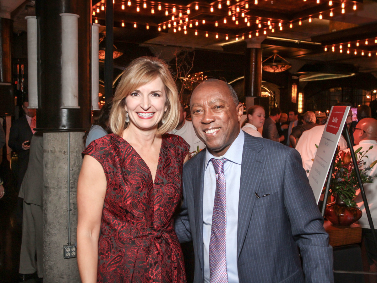 District Attorney Devon Anderson and Mayor Sylvester Turner