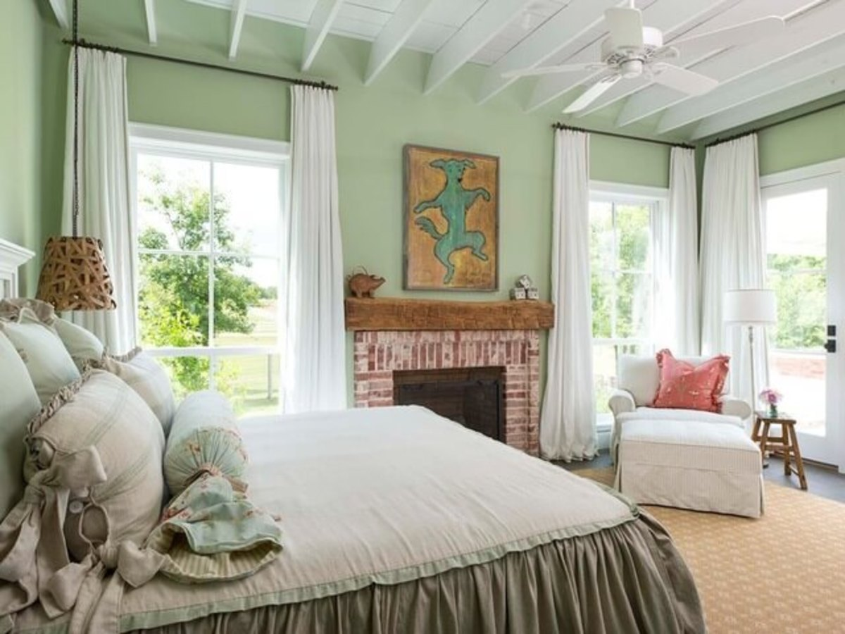 Houzz Dallas house home Athens farmhouse