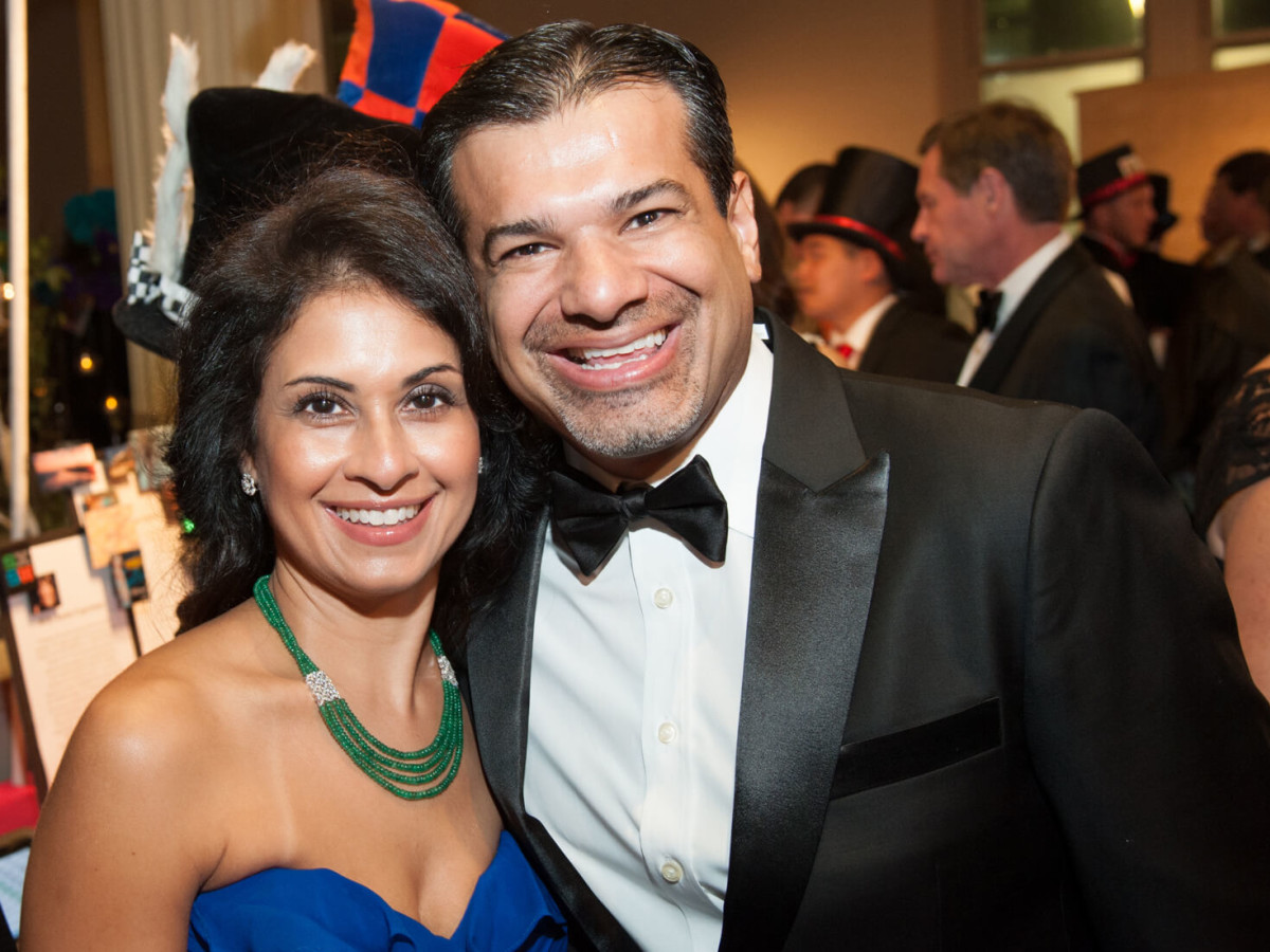 Houston, Childrens Museum of Houston Mad Hatters Ball, Oct. 2016, Rishma Mohamed, Akbar Mohamed