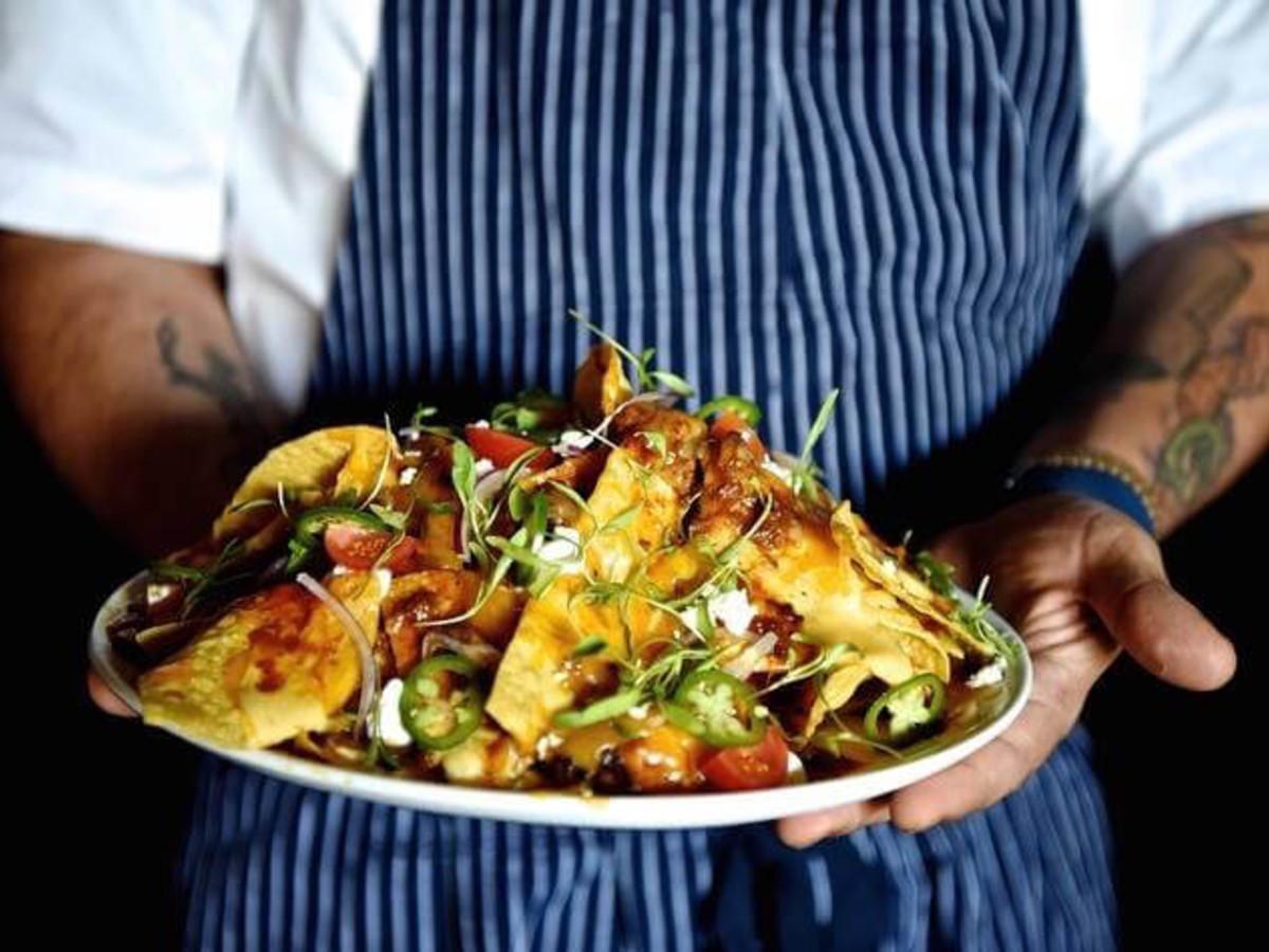 Killen's Steakhouse barbecue nachos