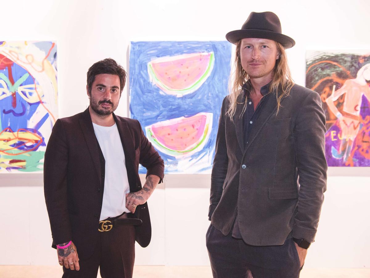 Pop Austin International Art Show 2016 Daniel Youssef Walter Naeslund