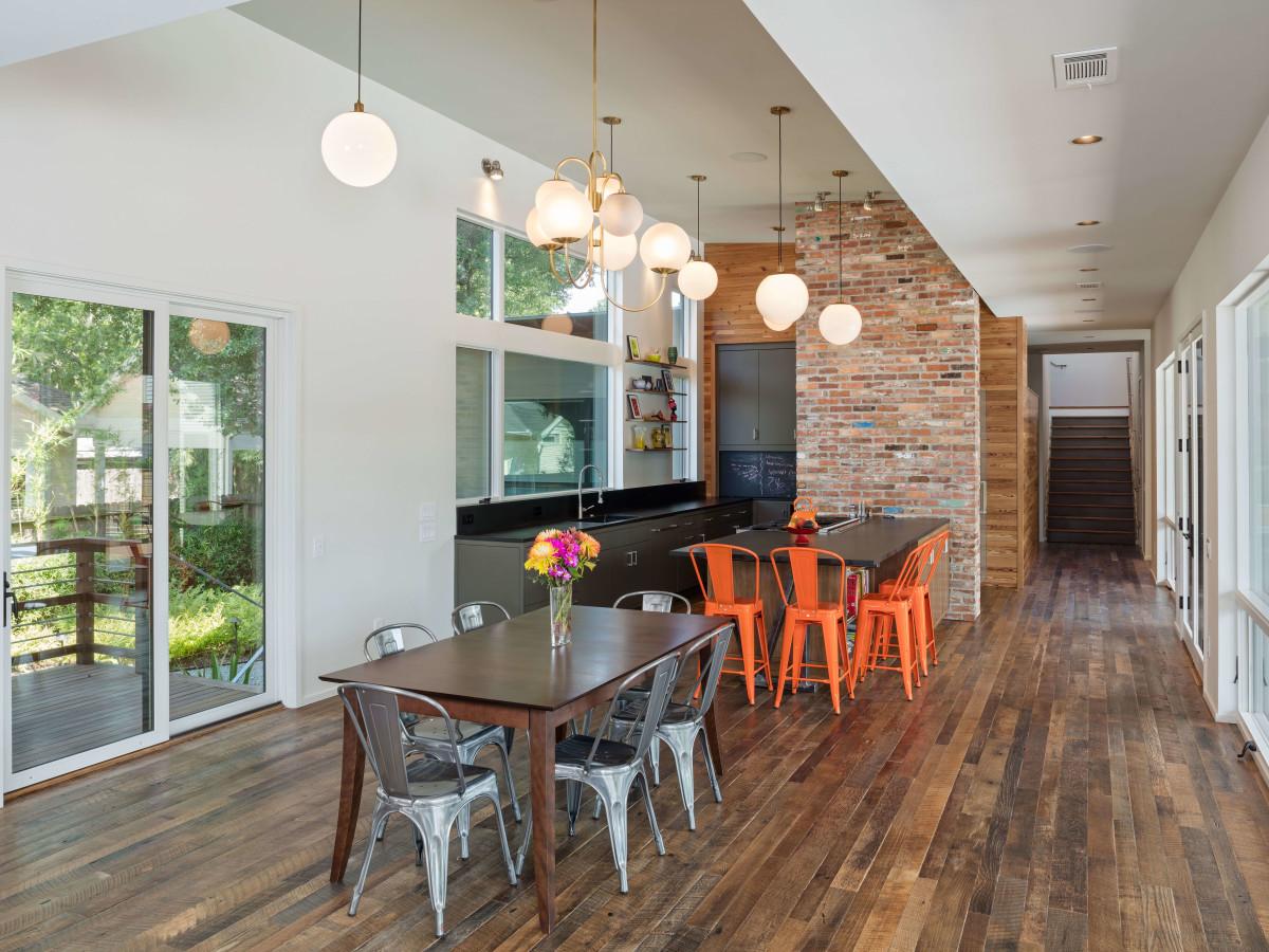 AIA Houston Home Tour 705 Merrill McIntyre+Robinowitz Architects: Marmo-Vaikhman House