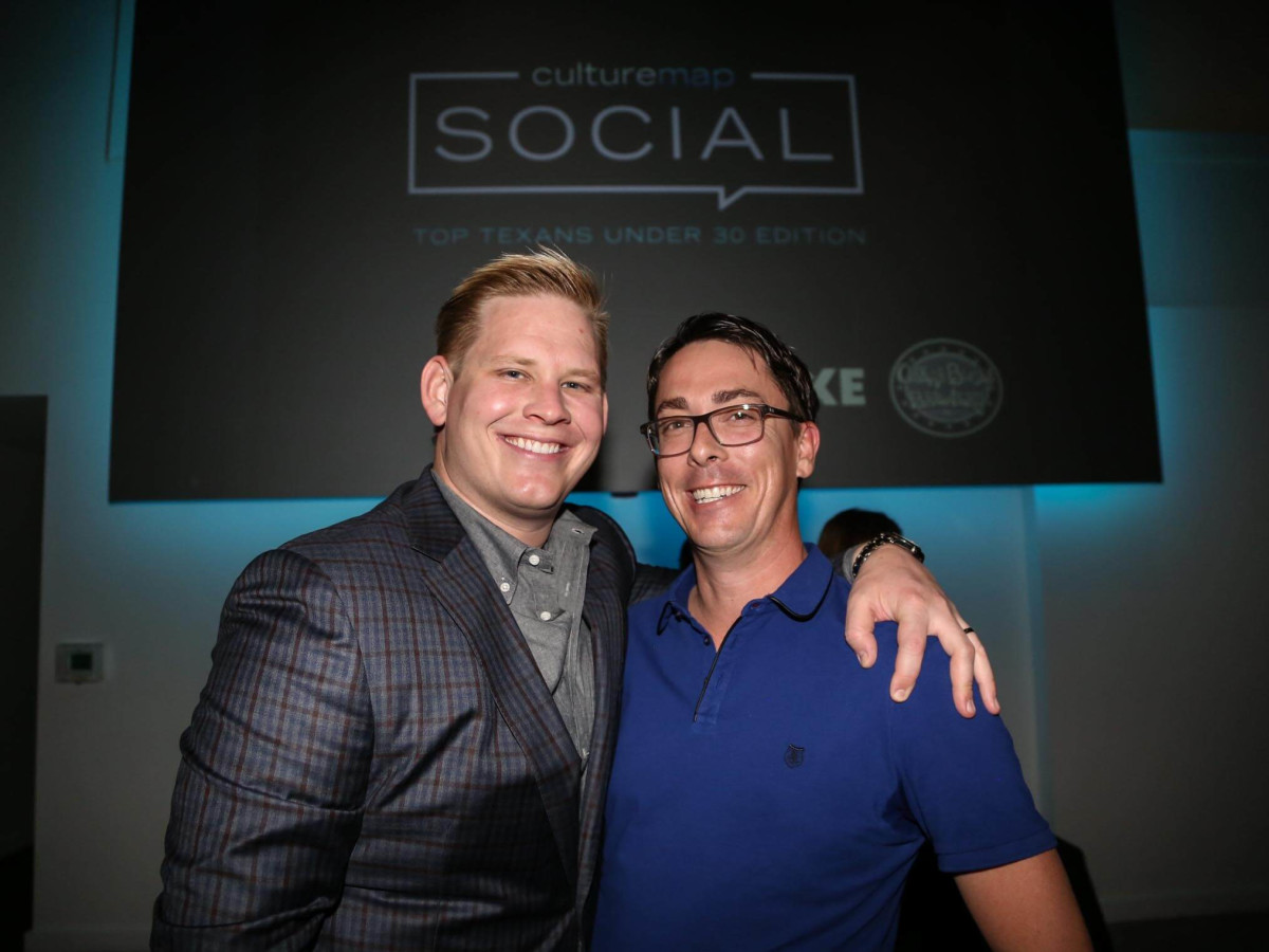 CultureMap Social Top Texans Under 30 Adam Jacoby Chris Swift