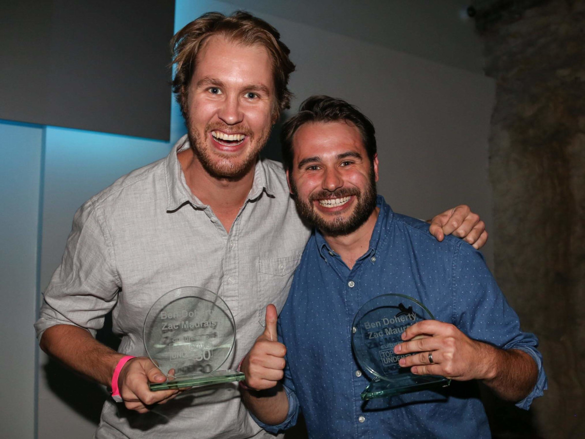 CultureMap Social Top Texans Under 30 Winners Favor Founders Zac Maurais Ben Doherty