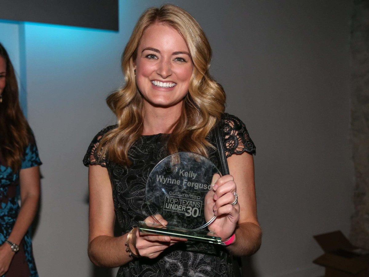 CultureMap Social Top Texans Under 30 Winner Kelly Wynne Ferguson Kelly Wynne Handbags