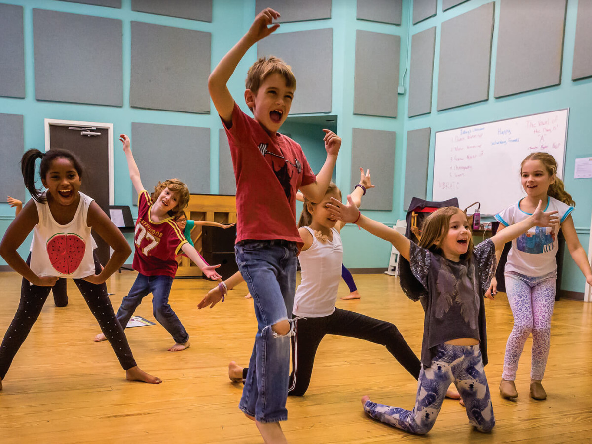 Zach Theatre Austin kids acting program