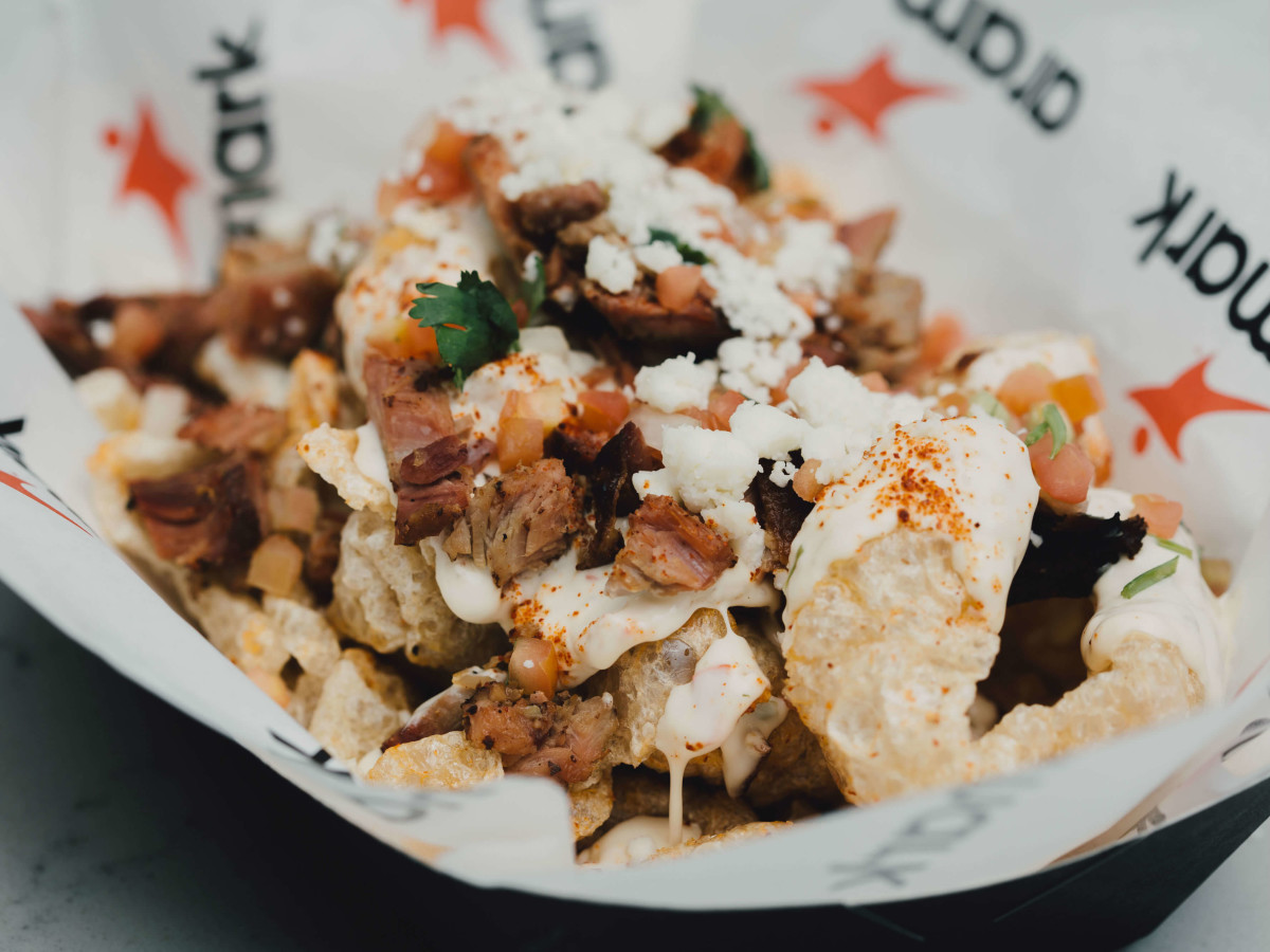 AT&T Center concessions 2016-2017 chicharrones nachos