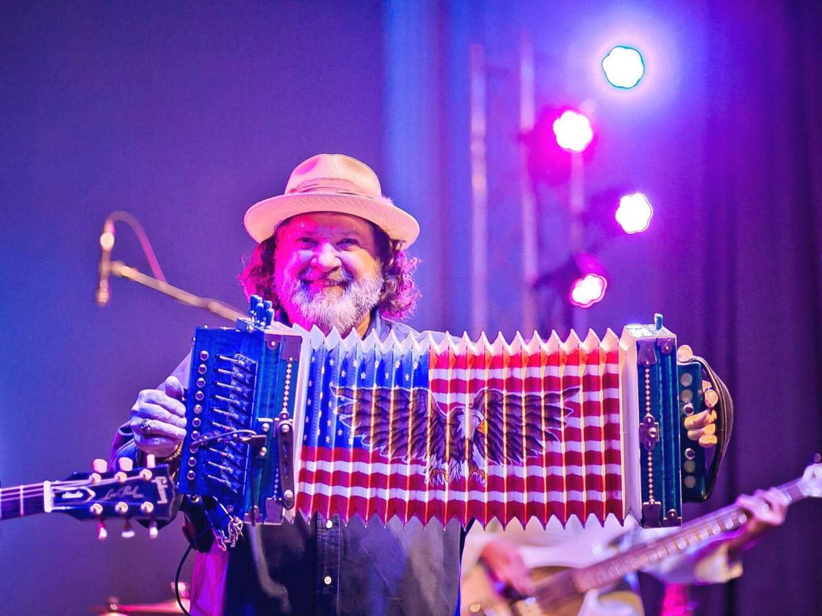 Wayne Toups at Orange Show Gala