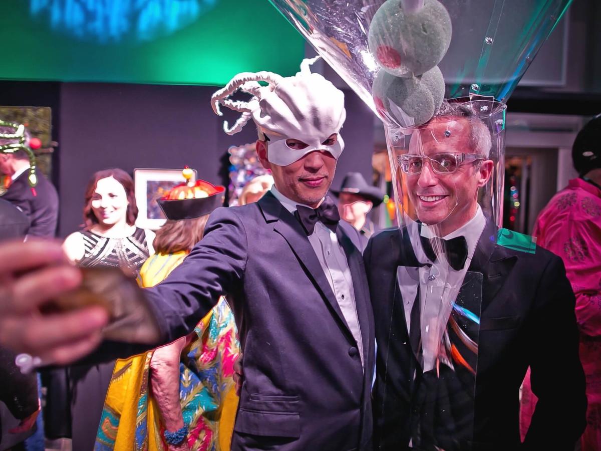 Mark Nguyen, Mark Sullivan at Orange Show Gala