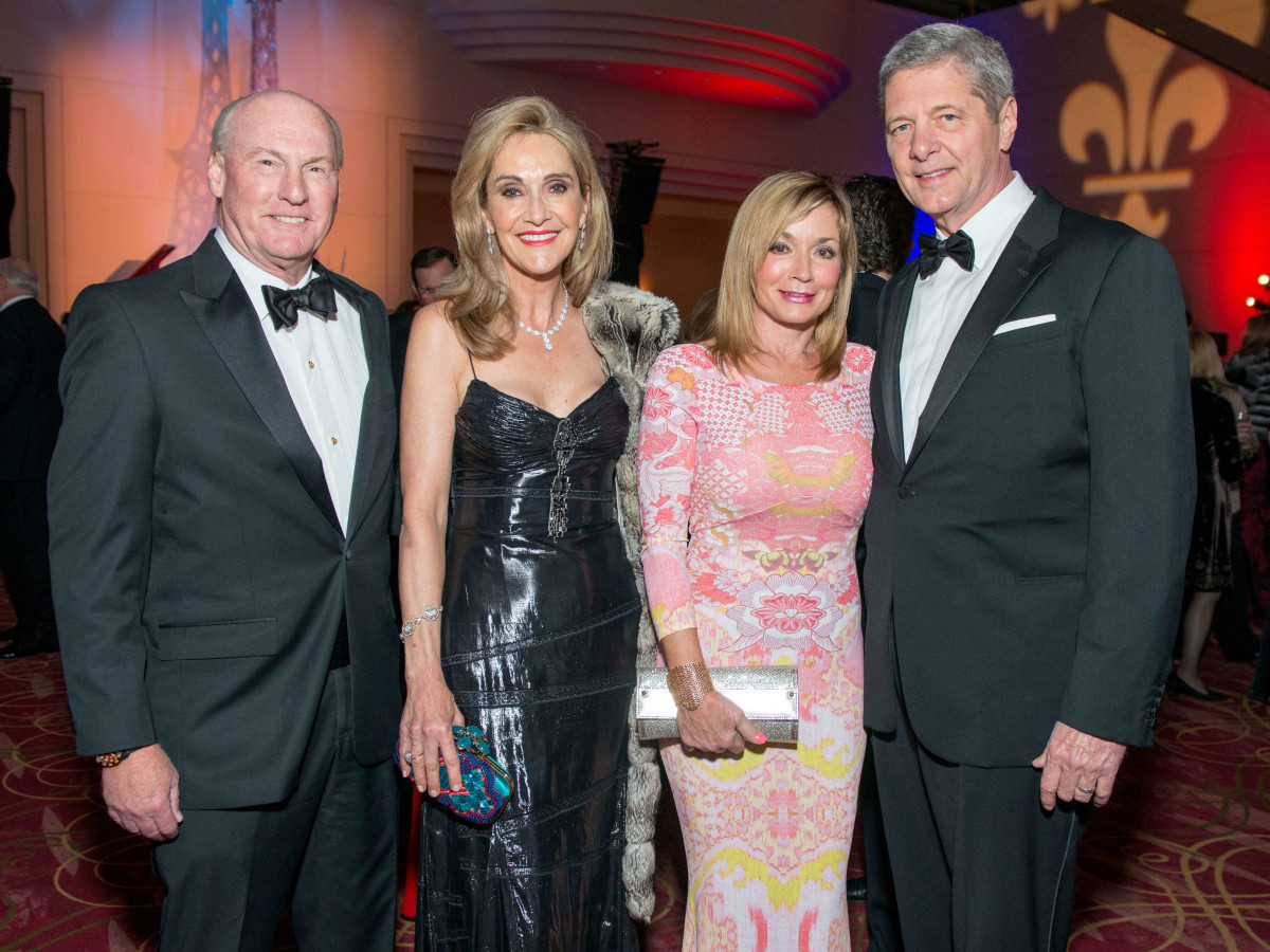 10 Scotty and Jana Arnoldy, from left, and Wezy and Bobby Dees at the Moores School Gala March 2015