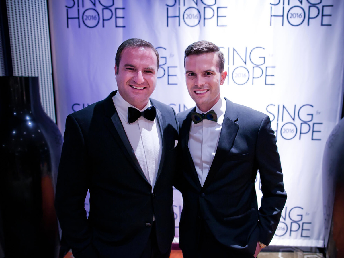 Houston, Sing for Hope gala, Nov. 2016, Tony Gibson, JD Adamson
