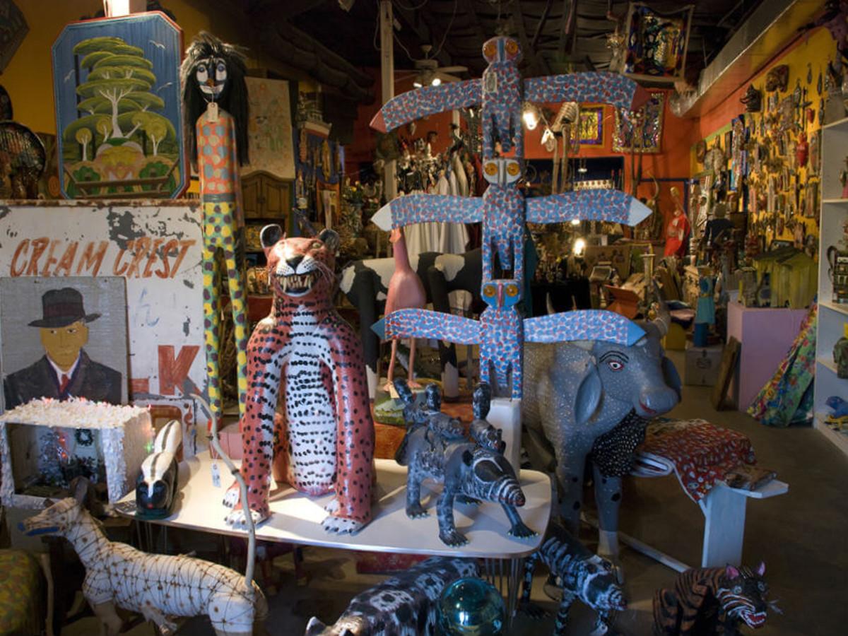 San Angel Folk Art Gallery San Antonio shop