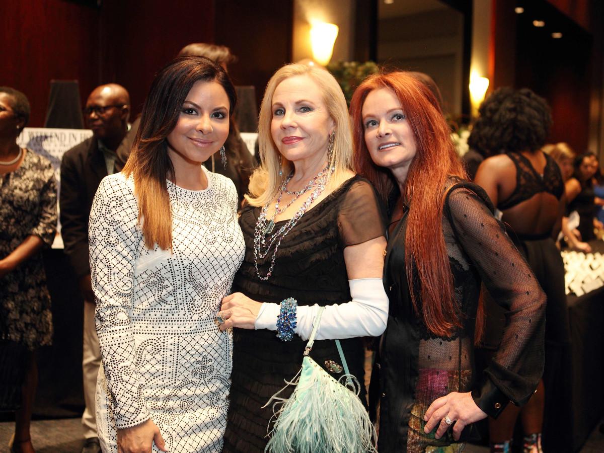 Houston, Bo's Place Una Notte, Nov. 2016, Jennifer Reyna, Carolyn Farb, Suzette Betts
