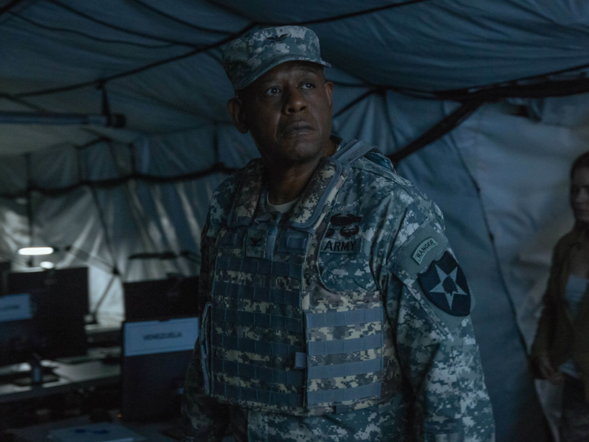 Forest Whitaker on Arrival