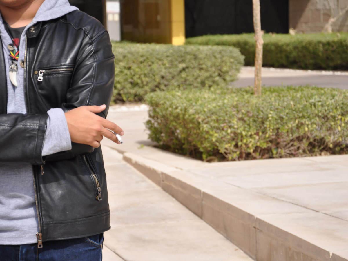 smoking, student smoking, cigarette