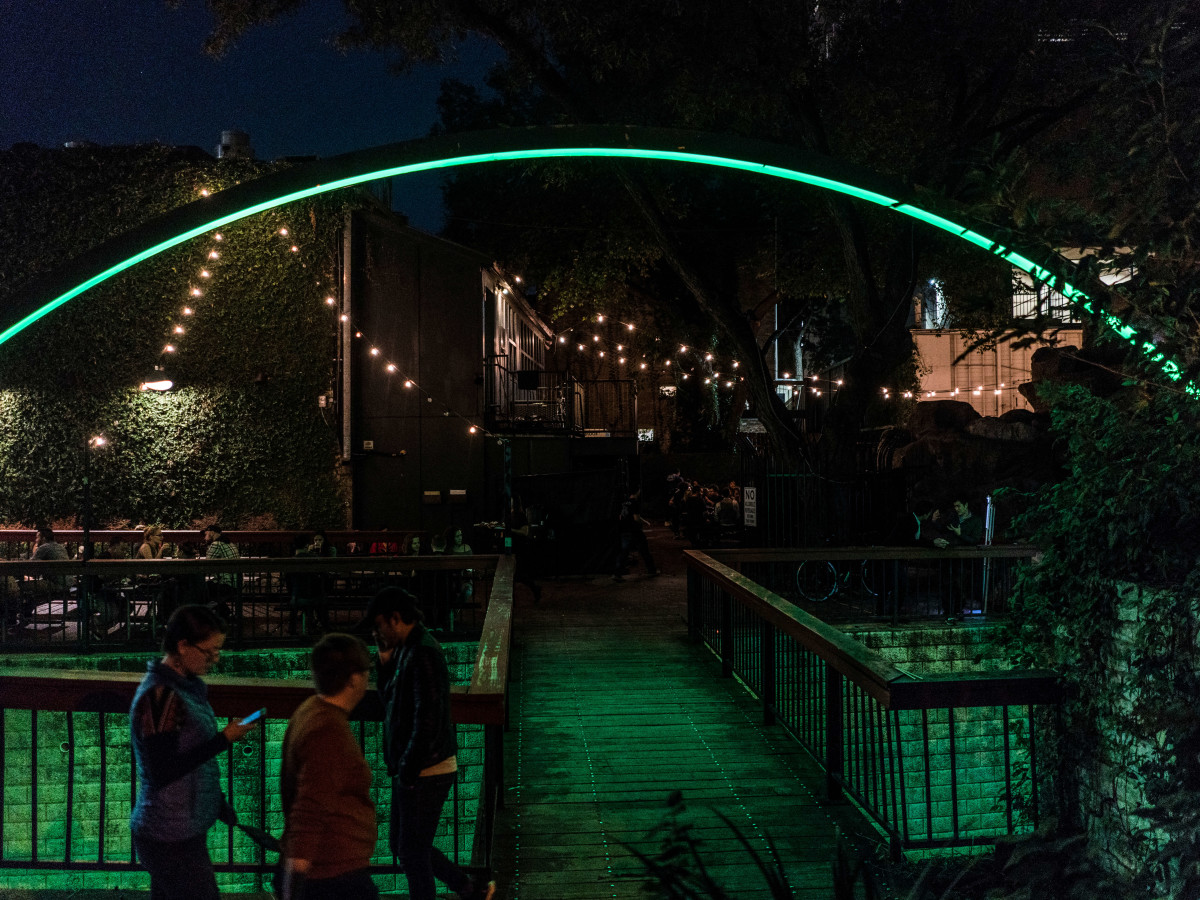 Waller Creek Show 2016 Deep Curiosity by East Side Collective and Drophouse Design