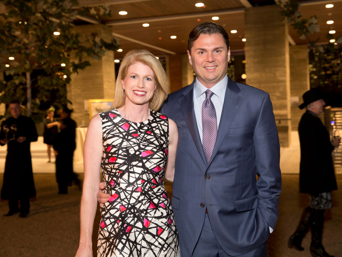 Houston, Buffalo Bayou Preservation gala, Nov. 2016, Jacquelyn Cox, Collin Cox