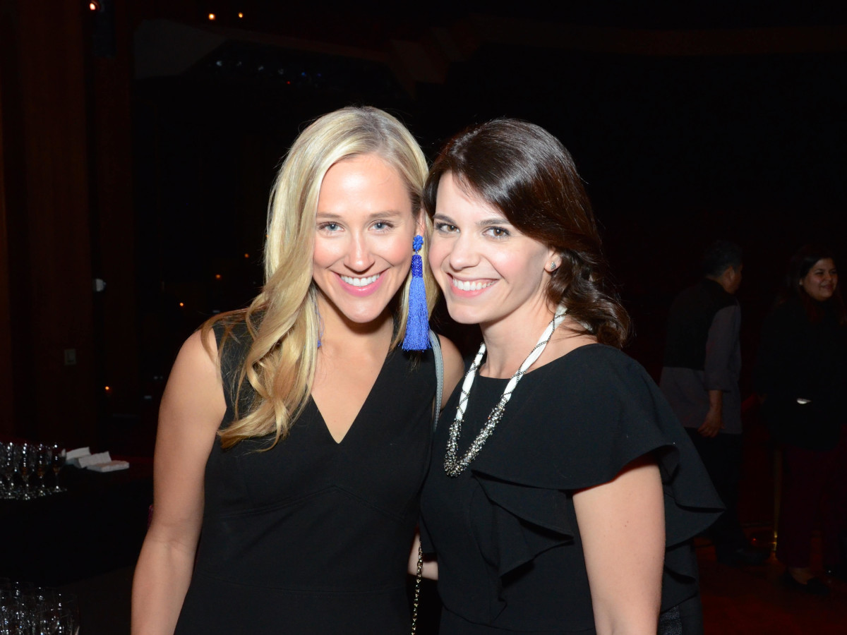 Houston, Society for Performing Arts gala, Nov. 2016, Haley Urquhart, Kristen Steen