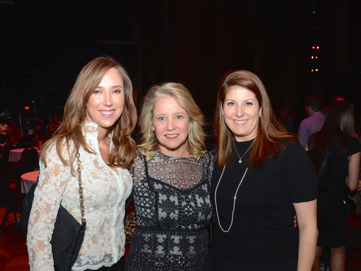 Houston, Society for Performing Arts gala, Nov. 2016, Ronel Golden, Elizabeth Vail, Christina Sacco