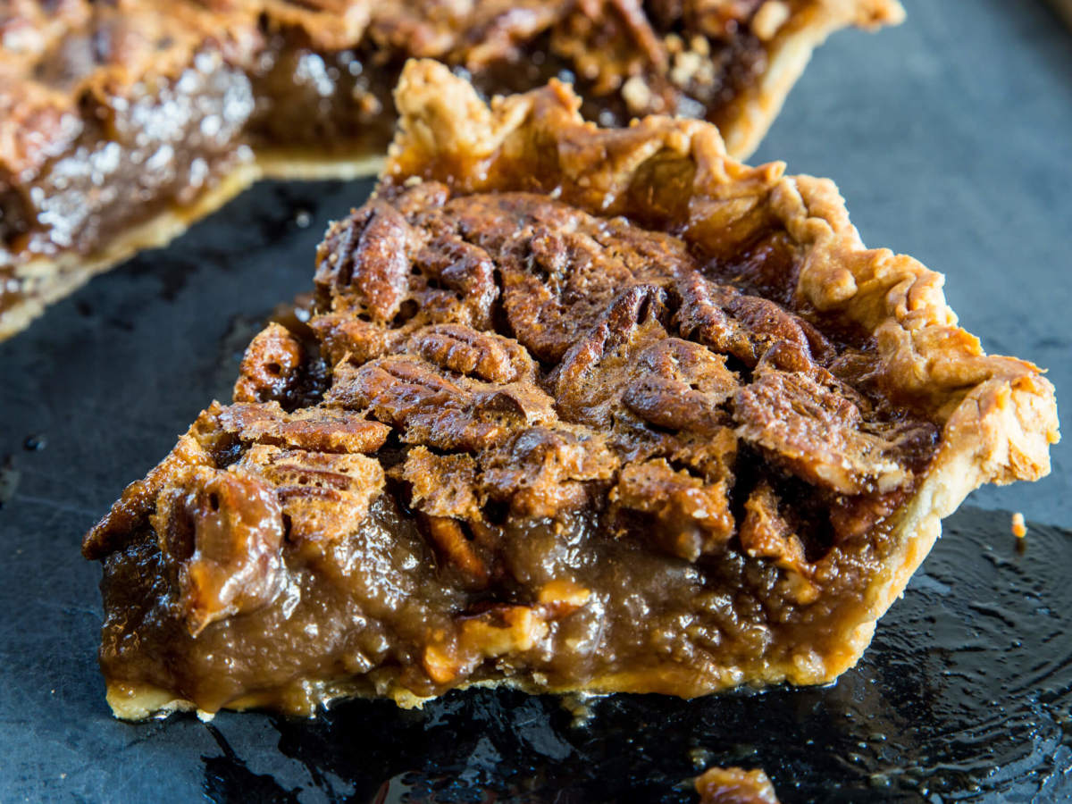 Weights Measures chocolate bourbon pecan pie