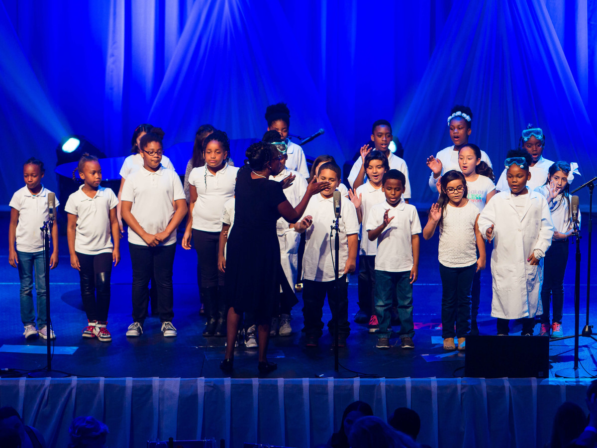 Andy Roddick Foundation Gala 2016 Pecan Springs Elementary School choir