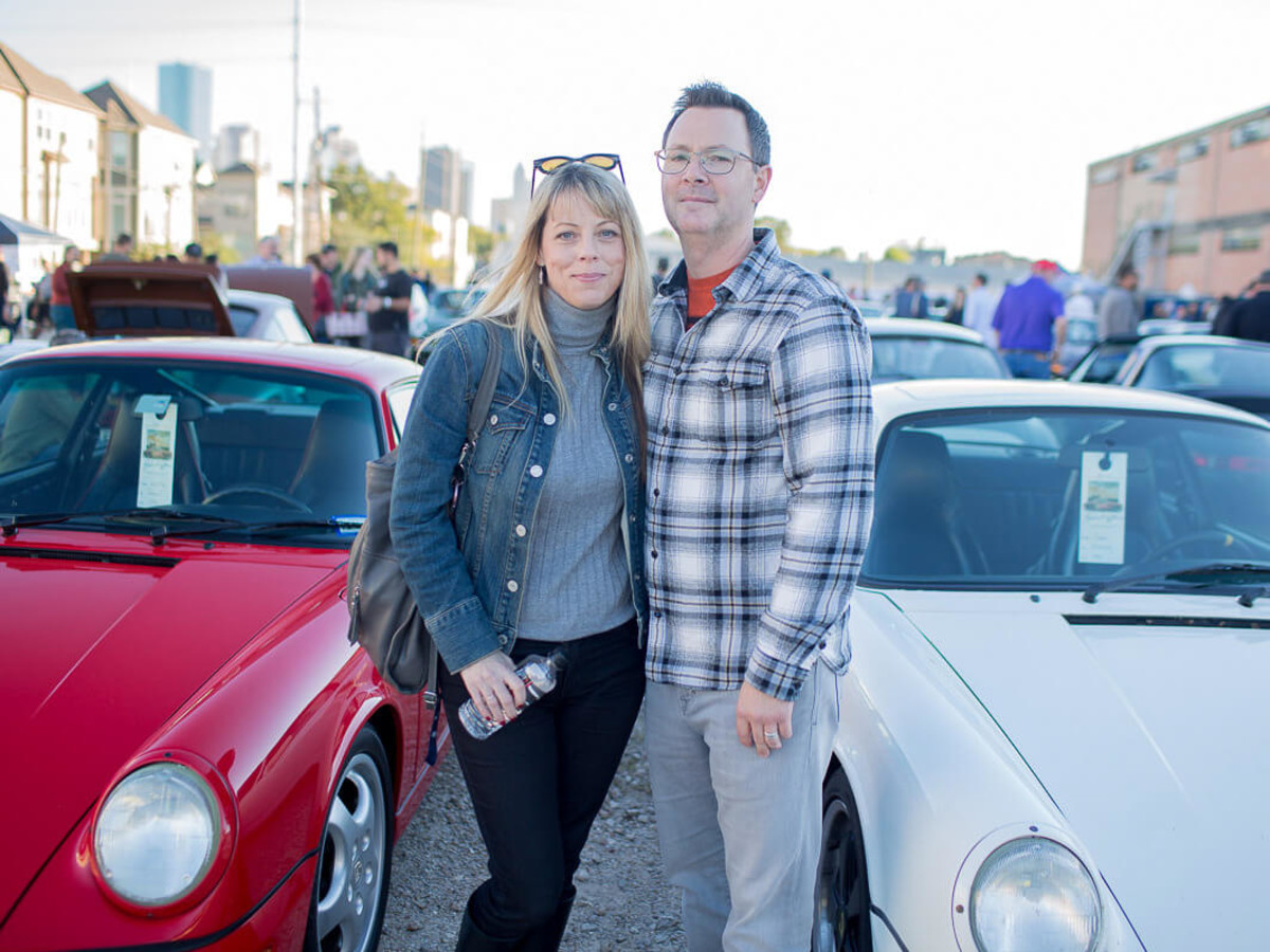 Houston, TejasTreffen Porsche event, Nov 2016, Rob Spragg, Shannon Cunningham