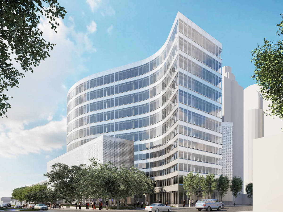 SXSW offices building 1400 Lavaca St Pei Cobb Freed & Partners