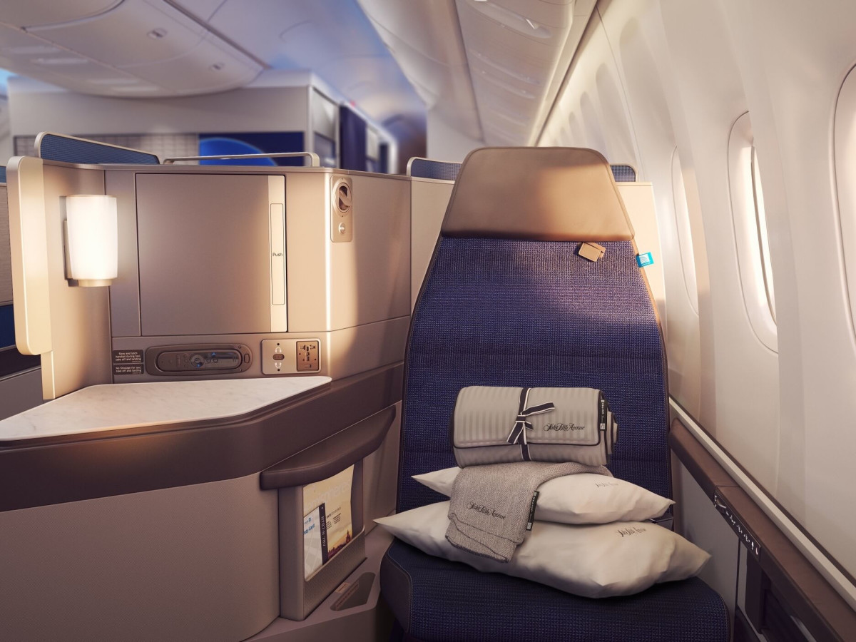 United Polaris seats