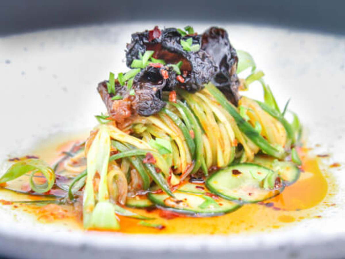Old Thousand restaurant cucumber salad