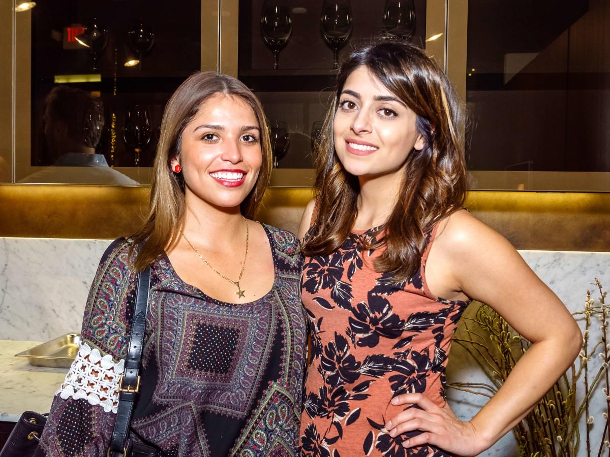 Houston, Mimosa Terrace launch event, Nov 2016, Alejandra Valadez, Sophia Shah