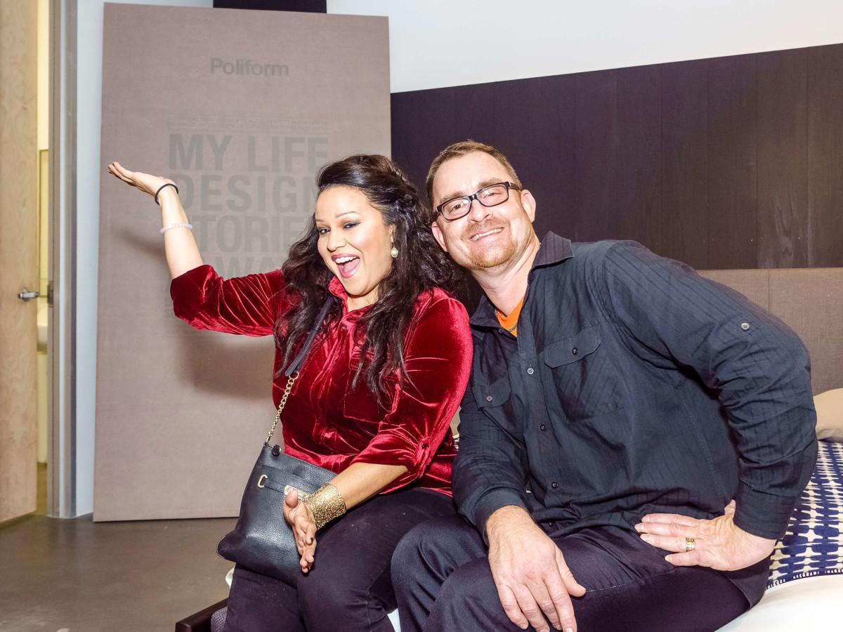 Houston, Mimosa Terrace launch event, Nov 2016, Jessica Almanza, George Gustin