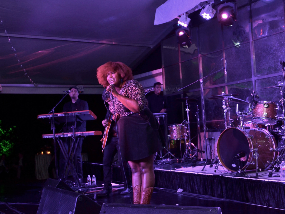 Houston, Susie Bean Gives fundraiser, Dec 2016, The Suffers