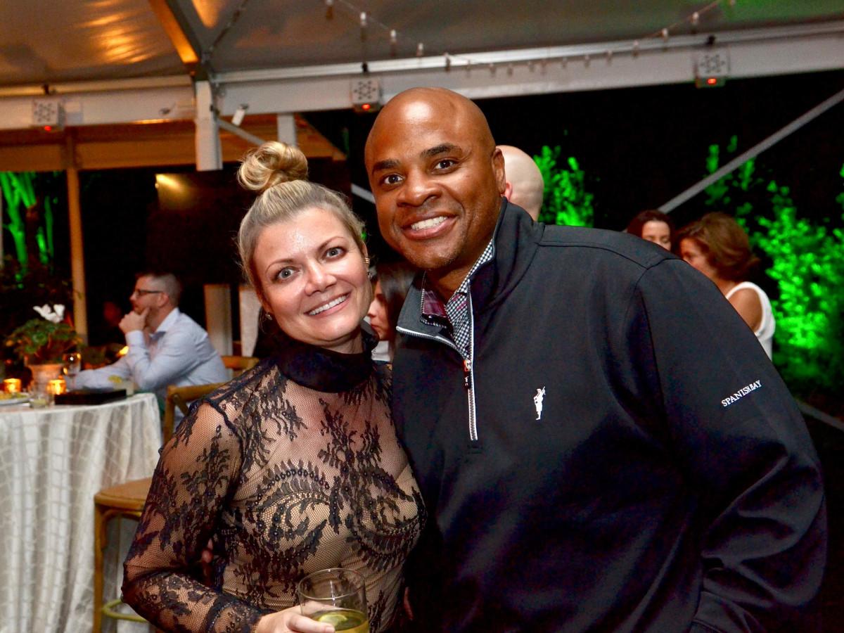 Houston, Susie Bean Gives fundraiser, Dec 2016, Rick Smith, Dr. Layla Salek