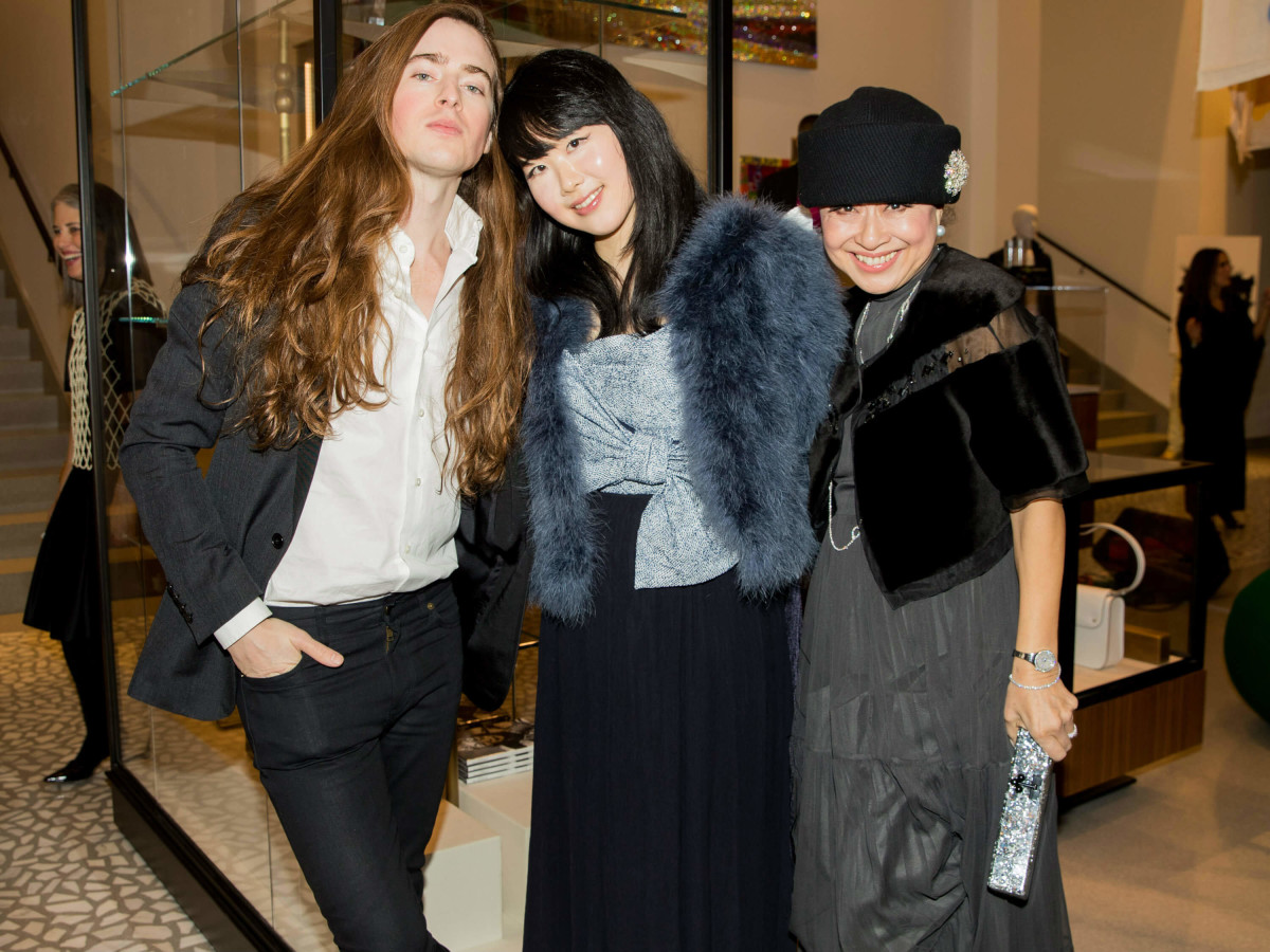 Edward Bess, Hanako Naeda, Daisy Lin