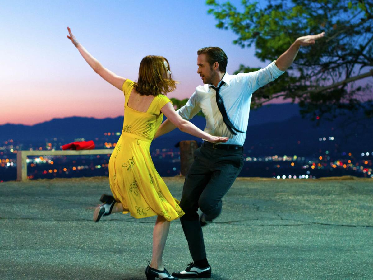 Emma Stone and Ryan Gosling in La La Land