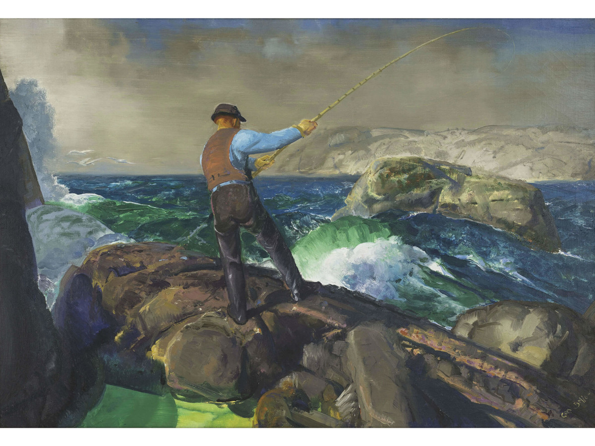 George Bellows, The Fisherman