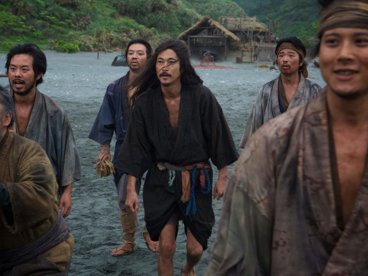 Yosuke Kubozuka and cast of Silence