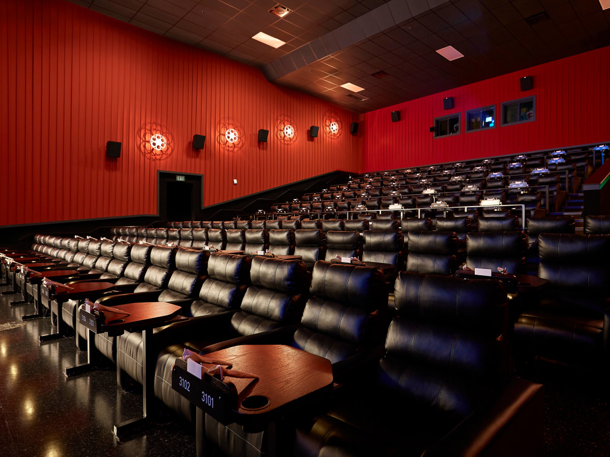 Houston, Alamo Drafthouse Cinema Katy, Jan 2017, interior of auditorium