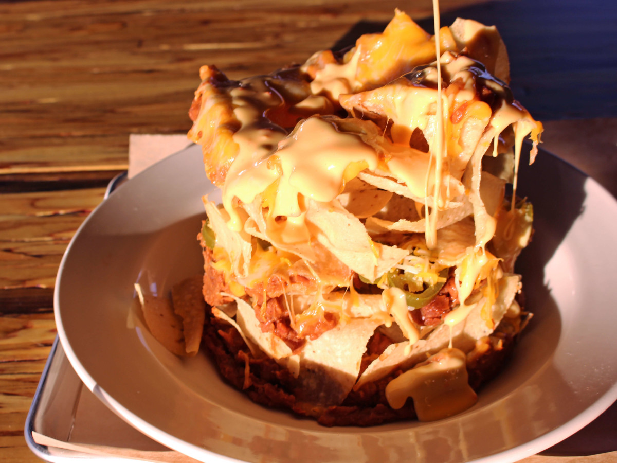 The Local Post restaurant bar Austin nachos