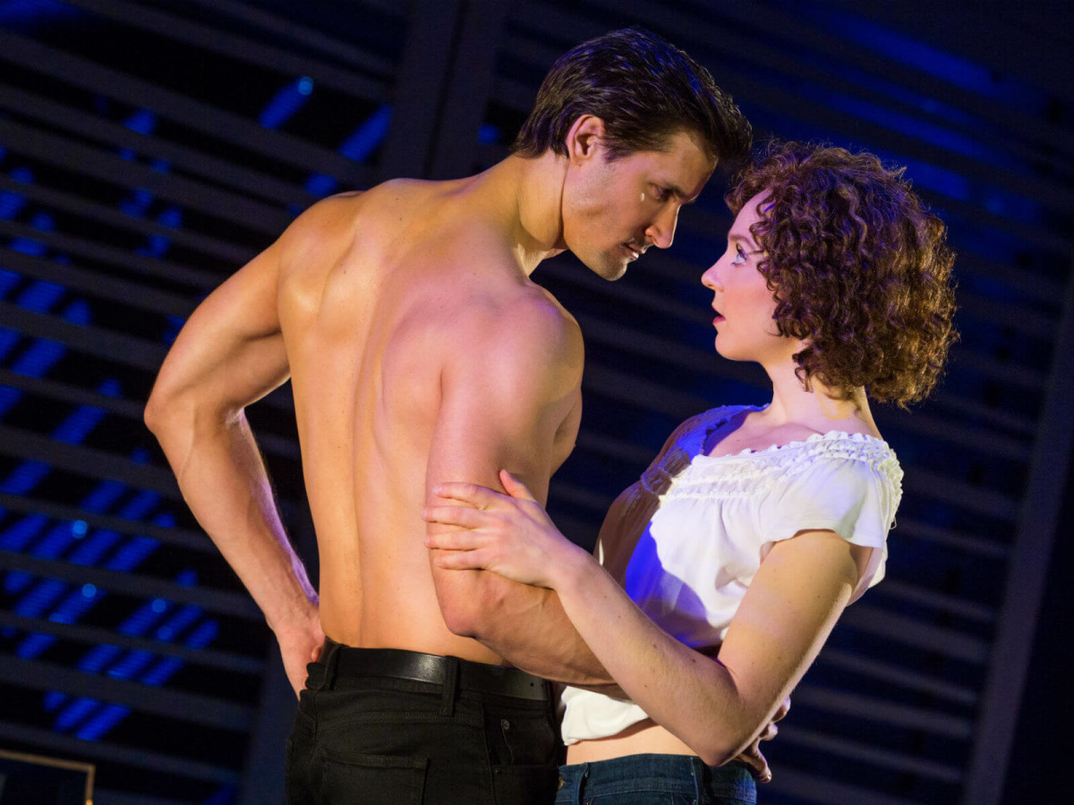 Samuel Pergande and Gillian Abbott in Dirty Dancing