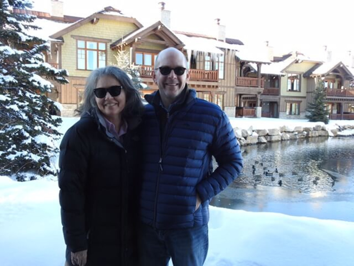 "Debbie McLeod and Jay Sears who are investors or executive producers of five Sundance films including ""Icarus"" and ""Trophy""  taken at the Sundance Film Festival 2017"