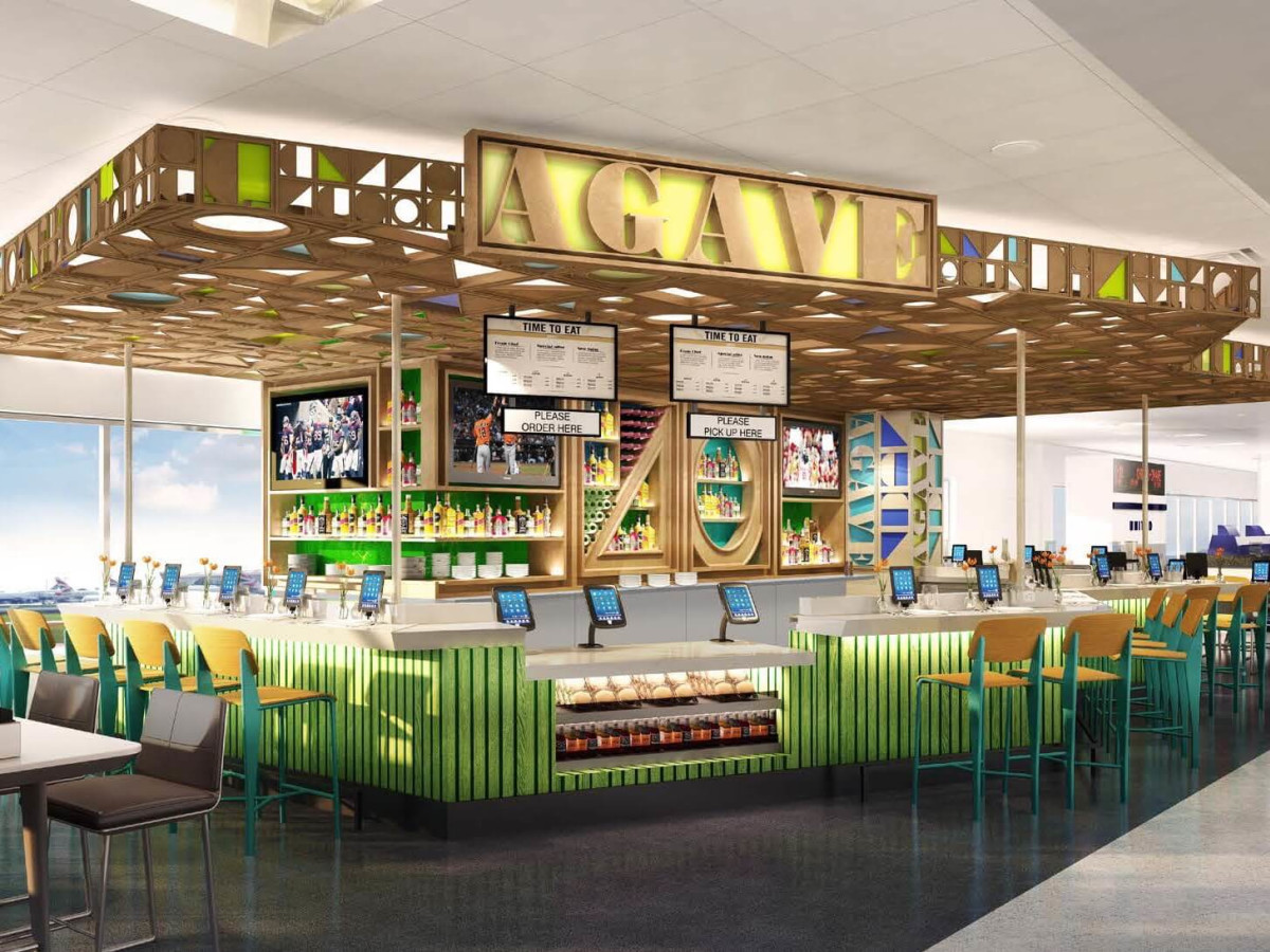 Agave restaurant at Bush Intercontinental Airport