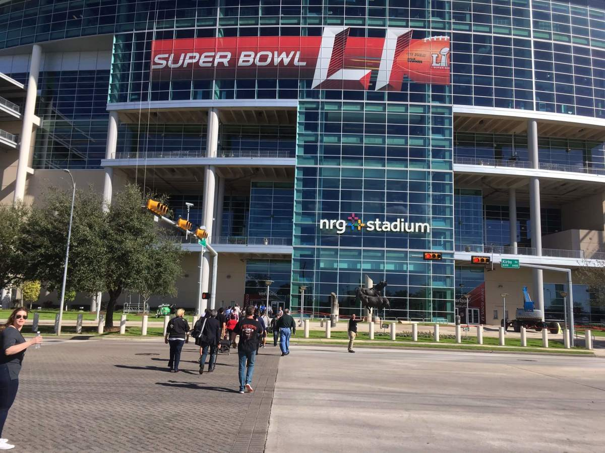 NRG Stadium Super Bowl