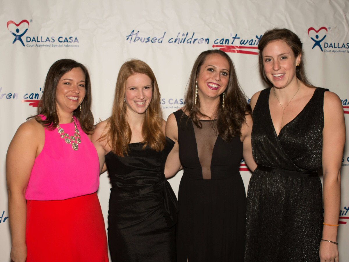 Jenny Jones, Annika Lewis, Ashley Tobin, Meredith Rubin