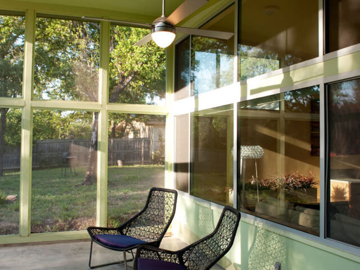 East Austin house home Houzz universal design